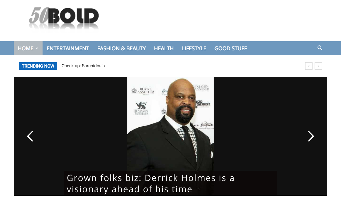 50Bold.com Interview with Derrick Holmes